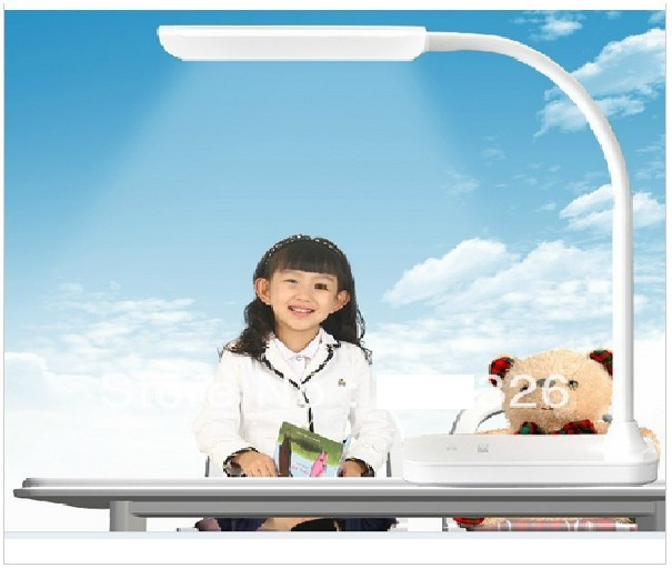 Led protect eyes desk lamp clip dimming touch table clamp lights Folding - Shen Zhen RedKing lighting Co.,Ltd store