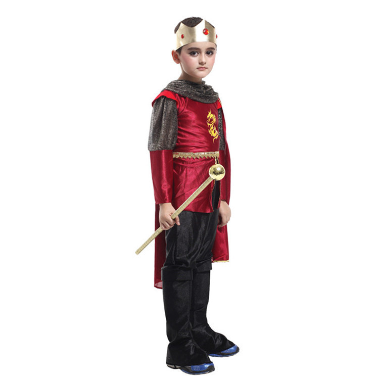Retail 2015 Classic Royal Prince Cosplay Costumes Boys Funny Halloween Performance Clothing - Flagship Store store