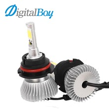 Buy Digitalboy LED Car Headlight 9004 9007 Fog Light 60W Hi/Lo Beam Car Conversion kit Headlamp 6000k Car Lighting Cold White Bulbs for $20.70 in AliExpress store