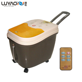 Ly-215 pediluvium device roller electric automatic massage foot bath bucket feet basin