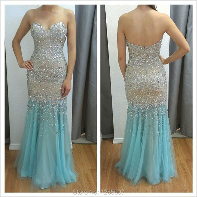 diamond mermaid prom dresses - photo #43