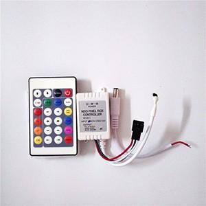 2M/5M WS2811 DC12V 30/48/60leds/m RGB Addressble LED Strip Black&White PCB  IP30/IP65/IP67 SMD5050 Pixels Strips