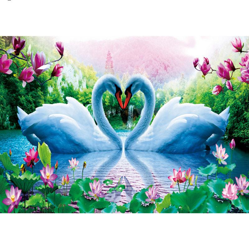 New-Full-Square-Diamond-5D-DIY-Diamond-Painting-Love-Swan-Embroidery-Cross-Stitch-Rhinestone-Mosaic-Painting_