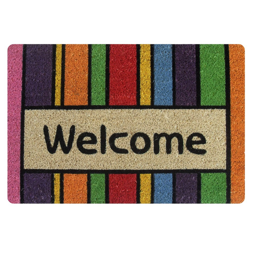 New Anti-Slip Floor Mat Front Welcome Doormat Entrance Door Mat Striped Carpet For Living Room Bathroom Kichen Rug Home Decor(China (Mainland))