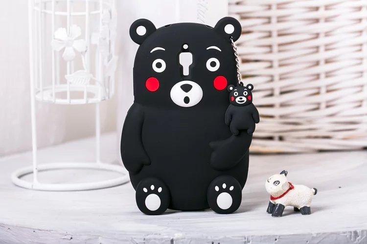Cute Bear Kumamon soft silicon cover case Xiaomi 4 M4 Mi4 M5 MI5 MI4I MI4C m4i m4c hongmi note 2 3 redmi - E-Credible Technology Co.,Ltd. store