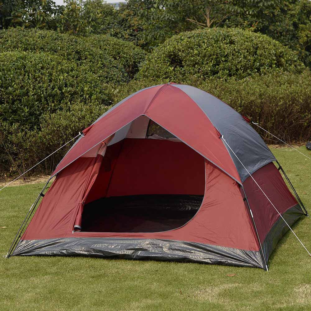 GOPLUS Waterproof Camp Tent 2-3 Person/Man 1 Room Outdoor Camping Hiking Tent Easy to Install(China (Mainland))