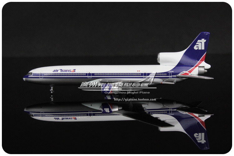 11cm 1:500 Air Canada Air Transat Lockheed L-1011-200 C-FTNC Airlines Airplane Model Plane Model Toy Collections Free Shipping(China (Mainland))
