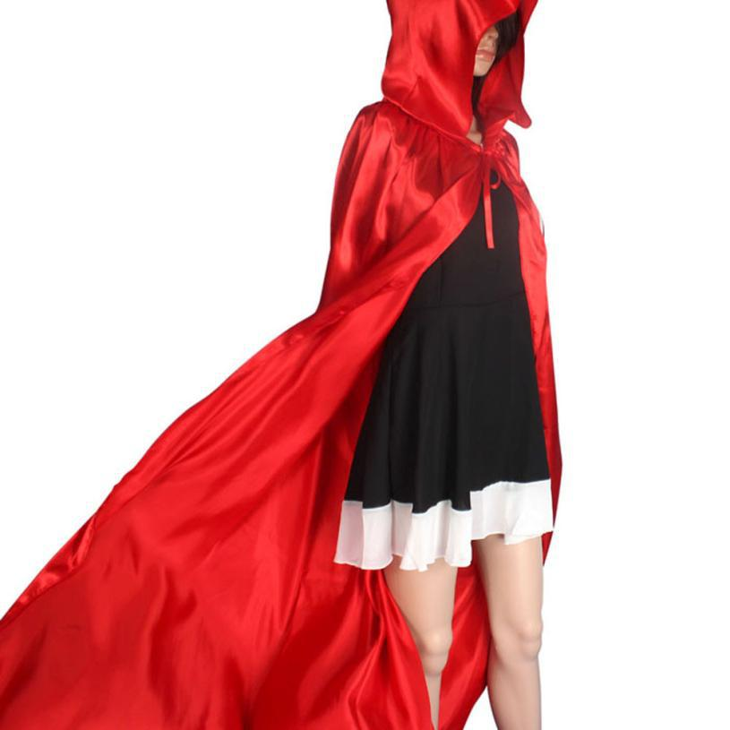 Free shipping 1PC Witch Spirit Cosplay Tops Hooded Cloak Coat Wicca Robe Medieval Capes Shawl Halloween