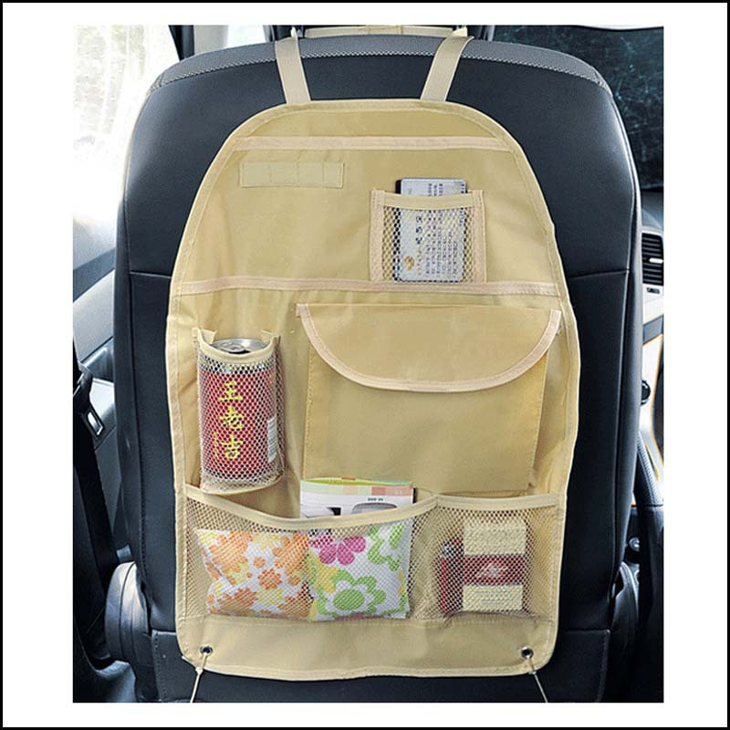 New Promotion Car Accessories Seat Covers bag Storage multi Pocket Organizer car seat Bag of Back
