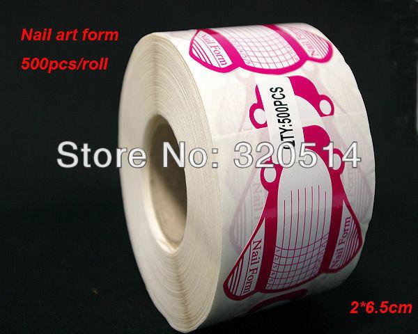 Free shipping pcs roll professional nail art tips