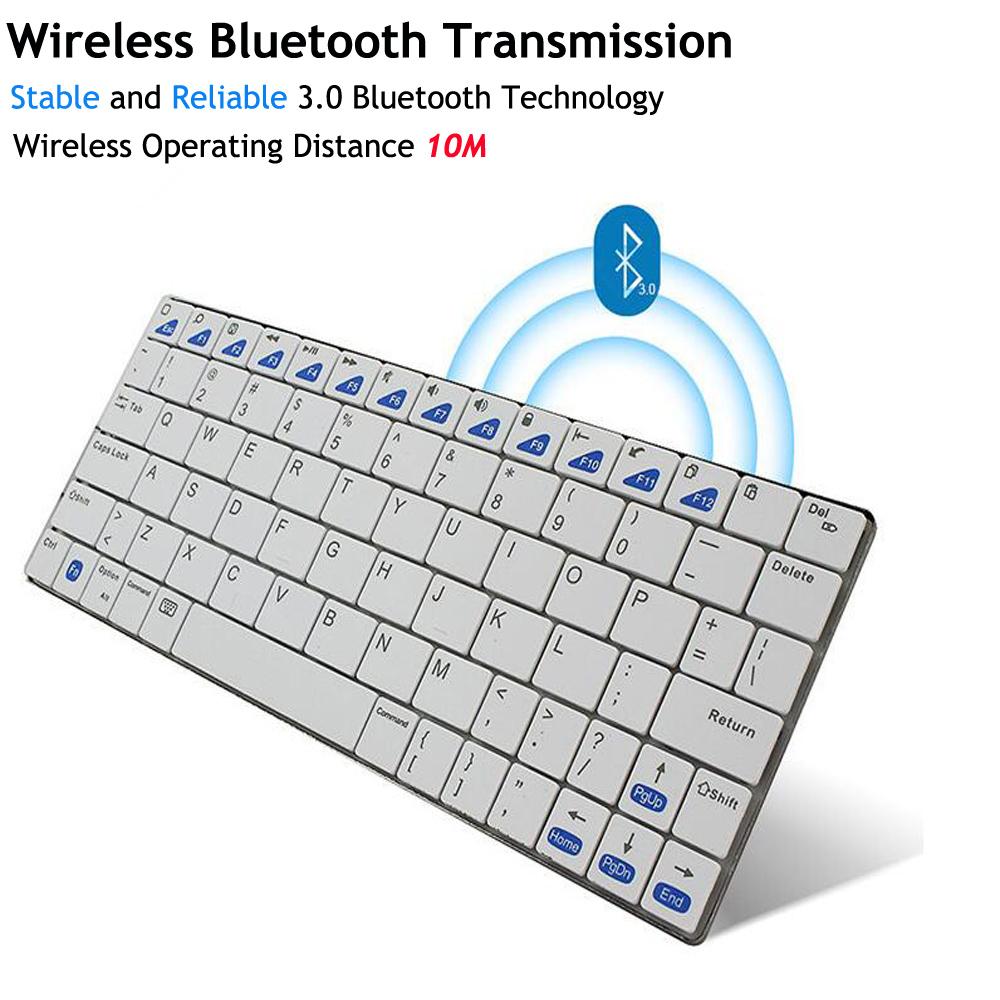 Ultra-slim Wireless Keyboard Bluetooth 3.0 for Apple iPad/iPhone Series/Mac Book/Samsung Phones/PC Computer High Quality(China (Mainland))