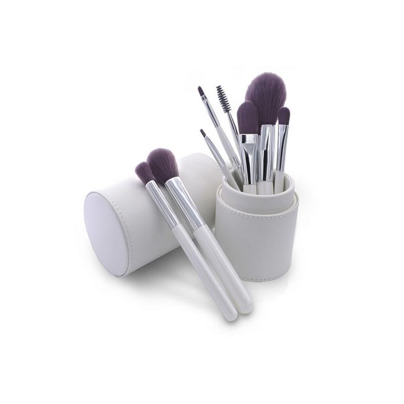 8Pcs Makeup Brushes Set Kits Tools Cylinder Holder Lip Eyeliner Eyeshadow Blending Brushes Contour Foundation Powder Brush Tool(China (Mainland))