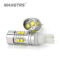 2x T10 194 W5W CREE Chip Led White Yellow 25W 50W With Len Projector Aluminum Case