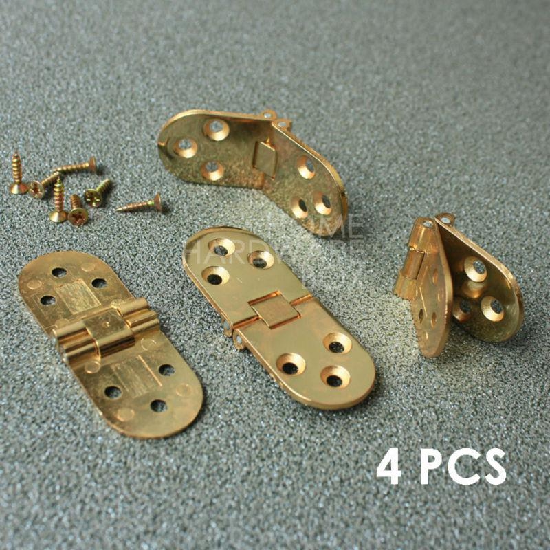 4 pcs of flip hinge folding table hardware extension flush mount(China (Mainland))