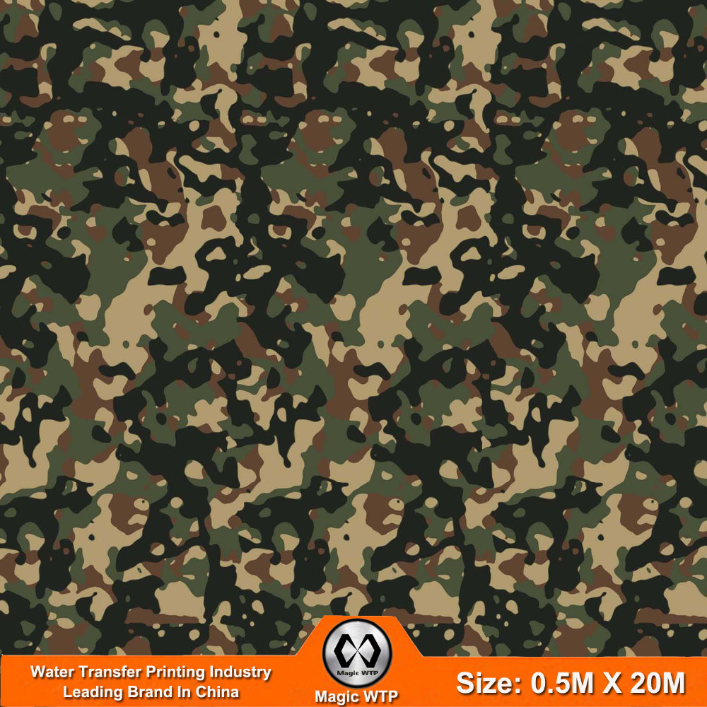 China Factory WTP Industry Water Transfer Printing Film Camo NO.JM056 Width 0.5m Length 20m Hydrographic Film Transfer(China (Mainland))