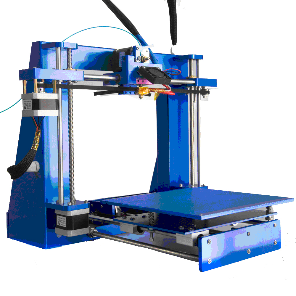 The Smallest 3d Printer With Aluminium Alloy Pole Amp Different Color Of Printing Material Amp