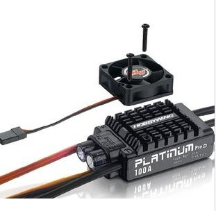 Фотография F17833 Hobbywing Platinum V3 100A Built in BEC Speed Controller 2-6S Lipo Brushless ESC for RC Drone Helicopter Aircraft