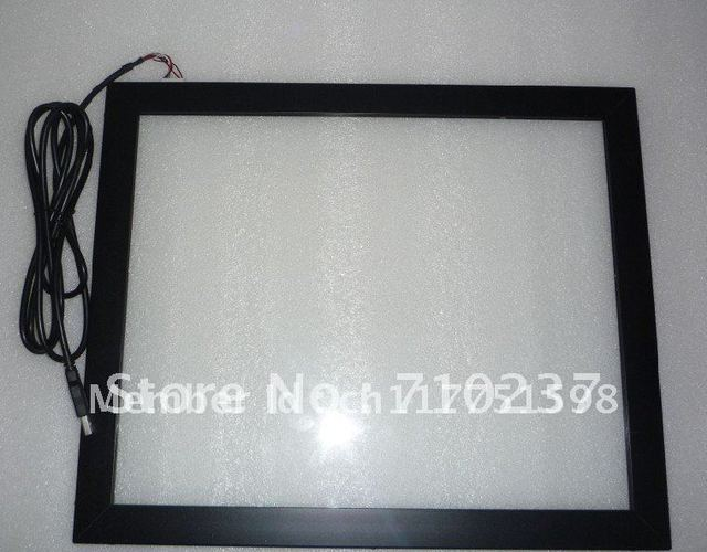 """17"""" infrared IR touch screen panel IR touch frame  free shipping cost"""