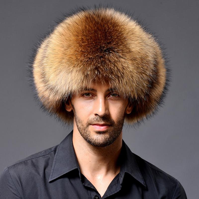 Men's 100 Fur Trapper Hat