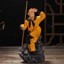 China Creative Wind Journey to the West Monkey, Pig back resin incense censer ornaments(China (Mainland))