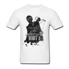 Buy New Designed Daryl Dies Riot Tshirt Couple Custom Short Sleeve Boyfriend's Big Size Tees Shirt for $12.98 in AliExpress store