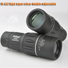 2015 hot HD high power spotting scopes 16x52, non-infrared telescope, travel outdoor hunting free shipping(China (Mainland))