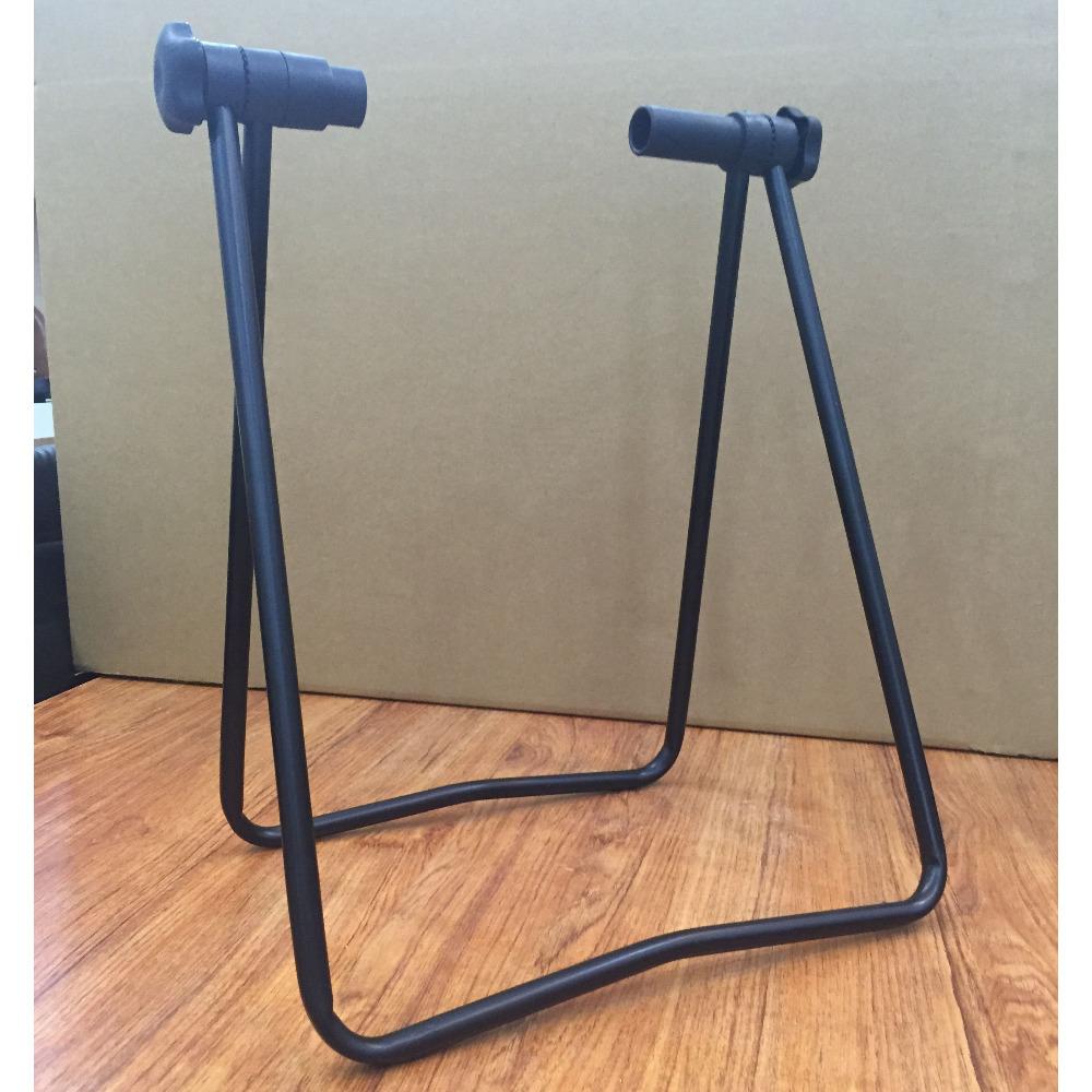 Portable Bicycle U-type Rack Triple Wheel Hub Stand Kickstand for Repair Parking Holder Road/Mountain Bike Accessories(China (Mainland))