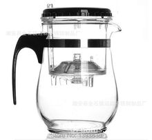 Hotest high temperature resistance of glass tea pot with filter new office tea infuser integrative convenient