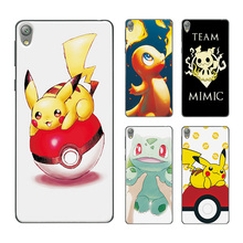 Pokemons Go Pikachu Pocket Monster Phone Case Covers Sony Xperia E5 F3311 F3313 Soft Silicone Back Cover 5.0 inch - Mall of for Smart store