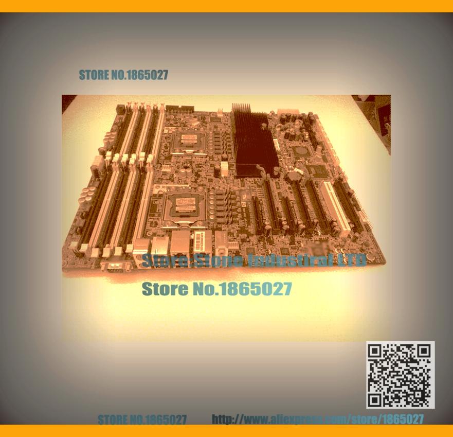 LGA 1366 Z800 Workstation Desktop Motherboard PCB REV:1.02 591182-001 460838-002 460838-003 100% Tested Good Quality(China (Mainland))