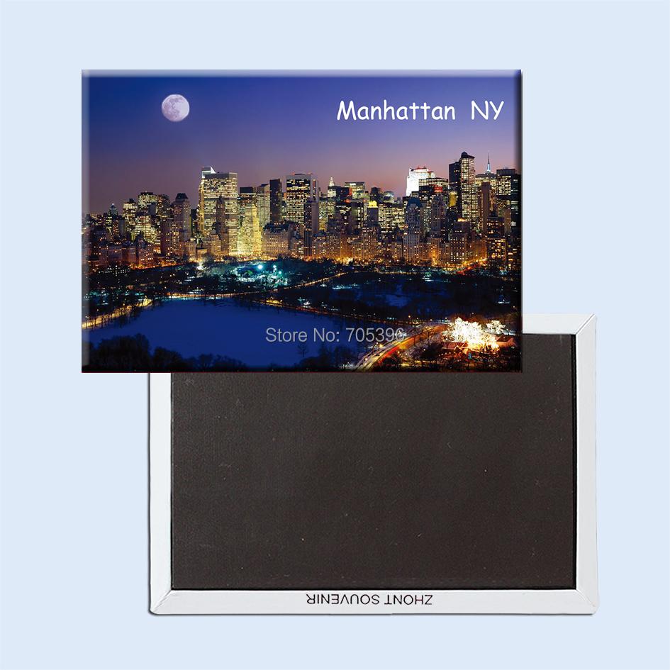 manhattan_new_york USA Fridge Magnet,Souvenir Gifts 20975(China (Mainland))