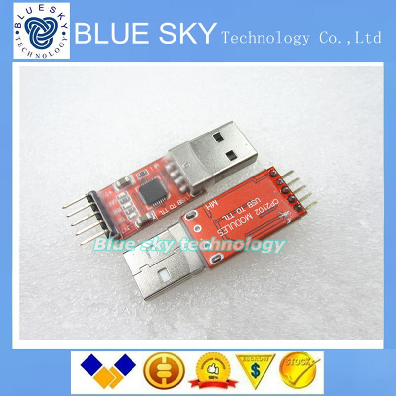 USB 2.0 to UART TTL 5PIN Connector Module Serial Converter CP2102 New(China (Mainland))