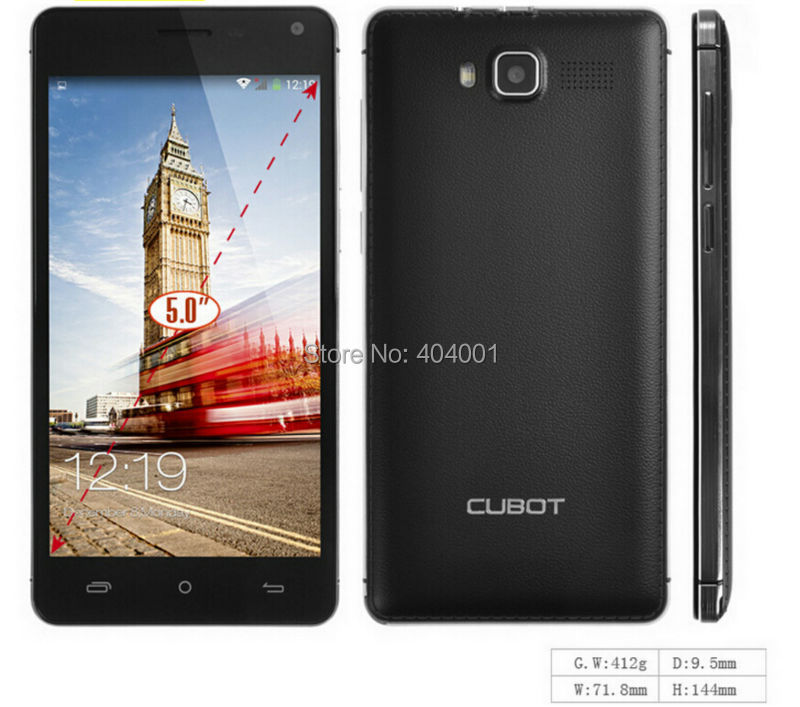 "Free hard case Cubot S200 phone Quad Core MTK6582 Android 4.4 5.0"" IPS 1280x720 1GBRAM 8GBROM 13.0MP 3300Mah free shipping LN(China (Mainland))"