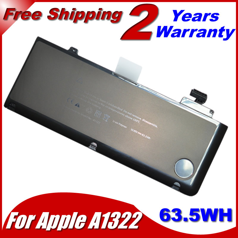 "Brand New Genuine A1322 A1278 Battery For APPLE MacBook Pro 13 "" MB991J/A MB991LL/A MB990J/A Laptop Free Shipping(China (Mainland))"