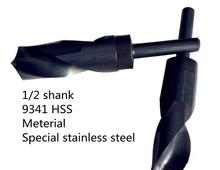1/2 mango 14.5 mm mango recto broca meterial de acero inoxidable especial