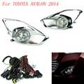 Fog light for for TOYOTA AVALON 2014 fog lamps Clear Lens Bumper Fog Lights Driving Lamps