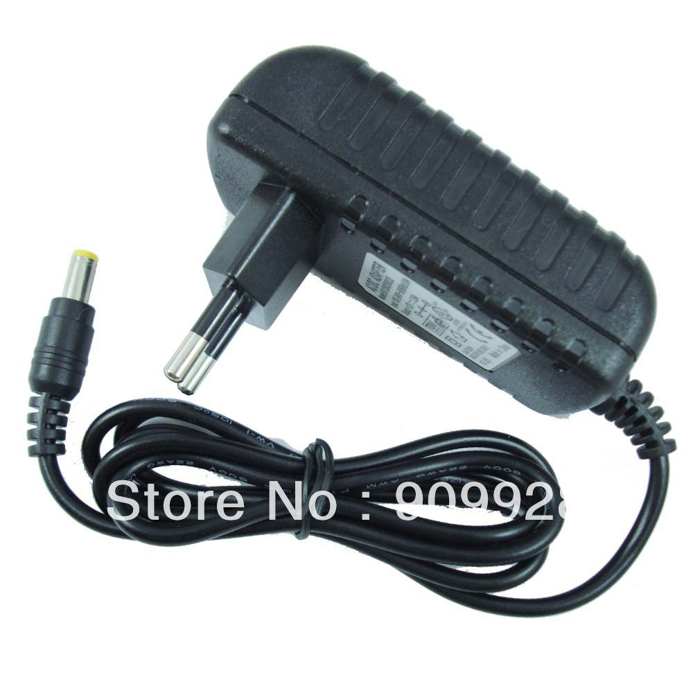100pcs AC 100V-240V Converter Adapter DC 12V 2A Power Supply EU plug 5.5mm x 2.1mm For LED strip CCTV Camera Free shipping