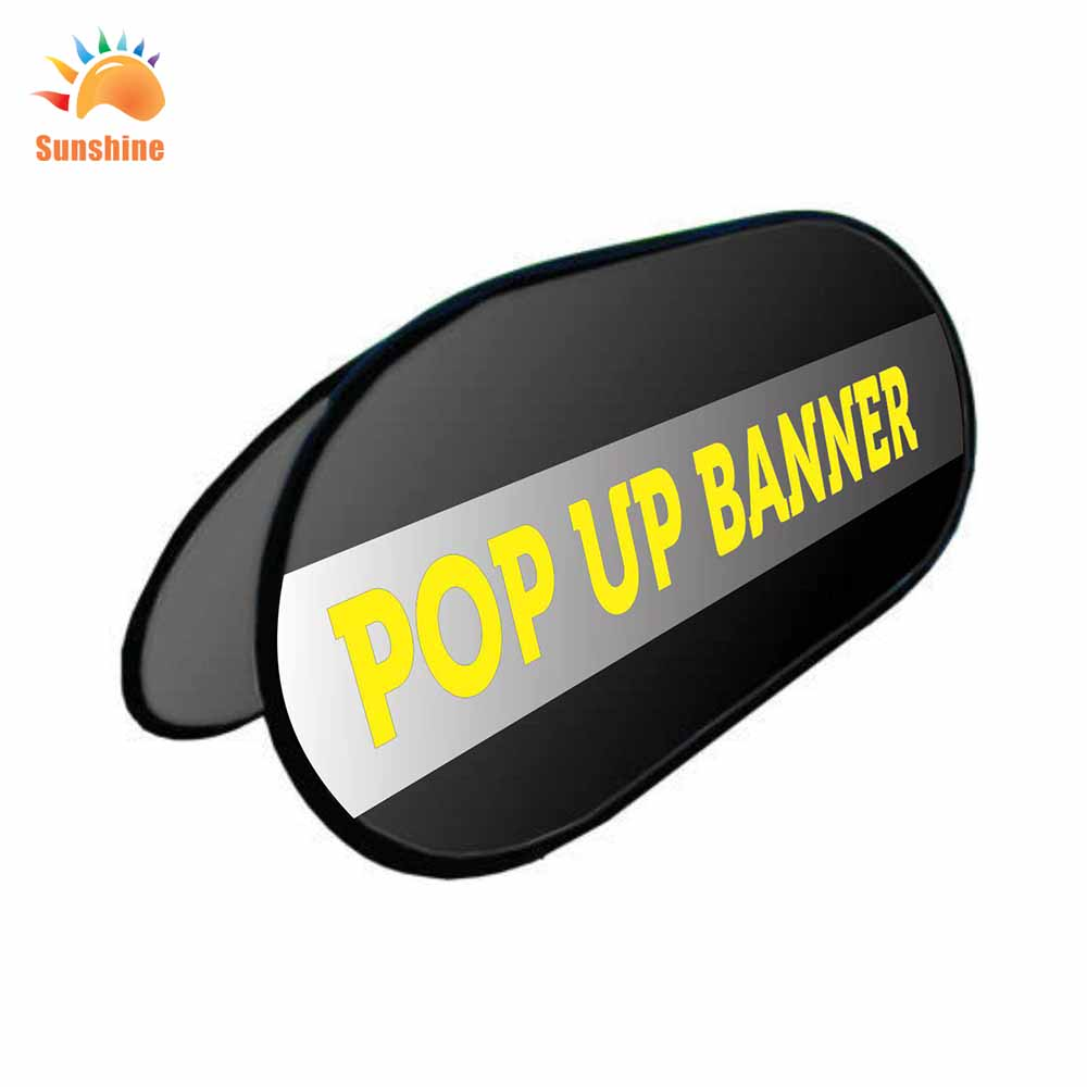 full color high quality cheap custom printing roll up pop up a frame bannerflag