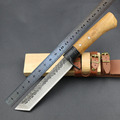Free Fast Shipping New High carbon Steel Handmade Forged Damascus Hunting Fixed Knife