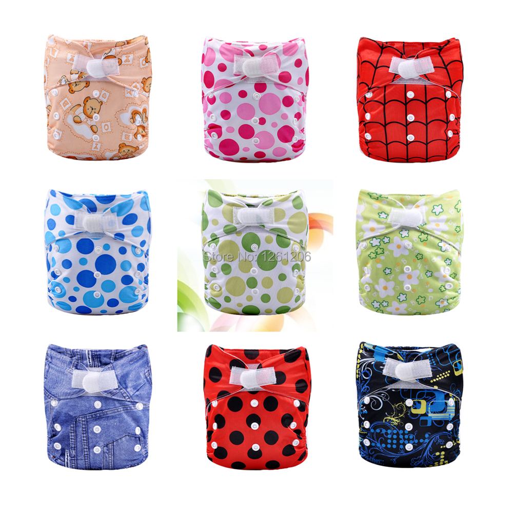 new design printed aio best diaper covers in bales (10sets)(China (Mainland))