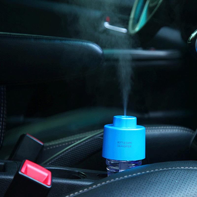 100 originais usb auto air freshener in the car aroma humidifier car-styling accessories car air purifier freshener in the car(China (Mainland))