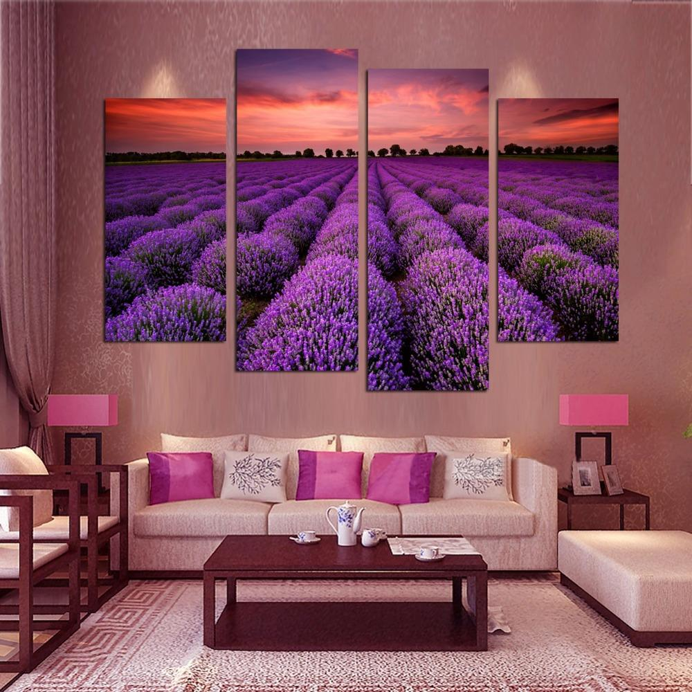 4 Piece Free Shipping Modern Wall Art Home Decoration