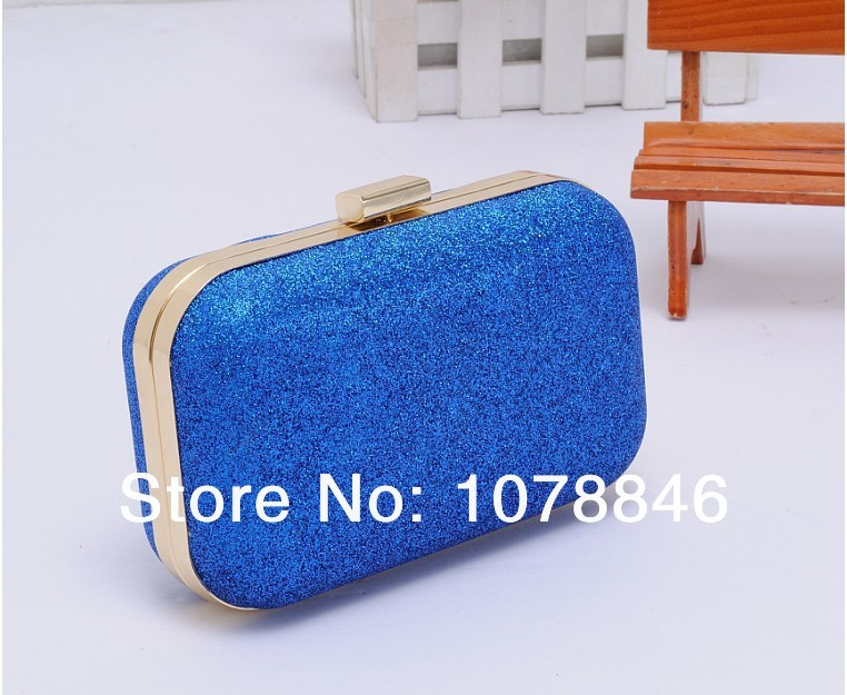 Fashion Sweet Mini Clutch 7 Colors Evening Party bags Purse Powder Ball Bag Box Women Leather Handbag shoulder wallets - Rose Ding Store store
