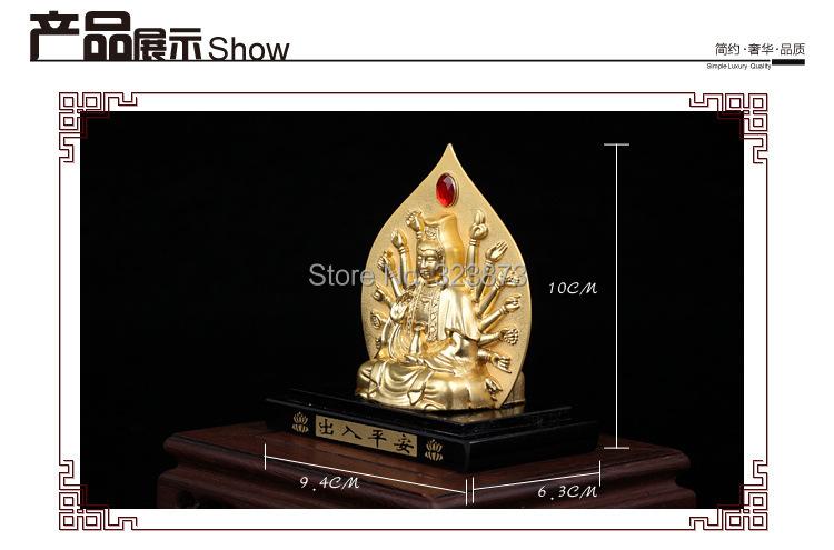 high-grade !! nice Perfume car manufacturers Alloy double of guanyin perfume Car perfume(China (Mainland))