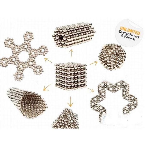 5mmx216pcs Magic Neo Cube Puzzle Ball Magnetic Neodymium Spheres Educational Creative DIY Toy Buckyballs(China (Mainland))
