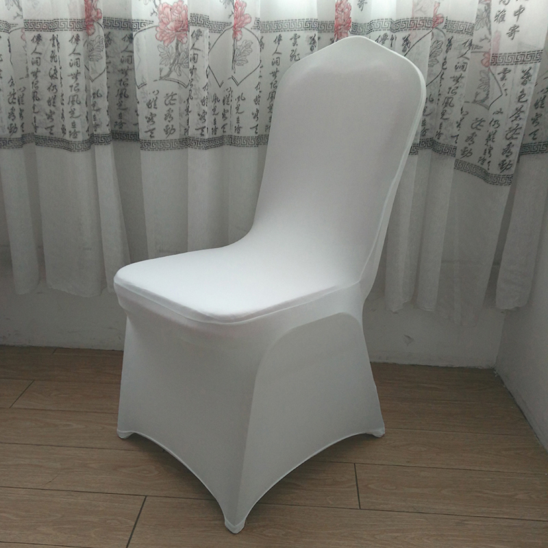 chair covers white polyester spandex wedding chair cover from china