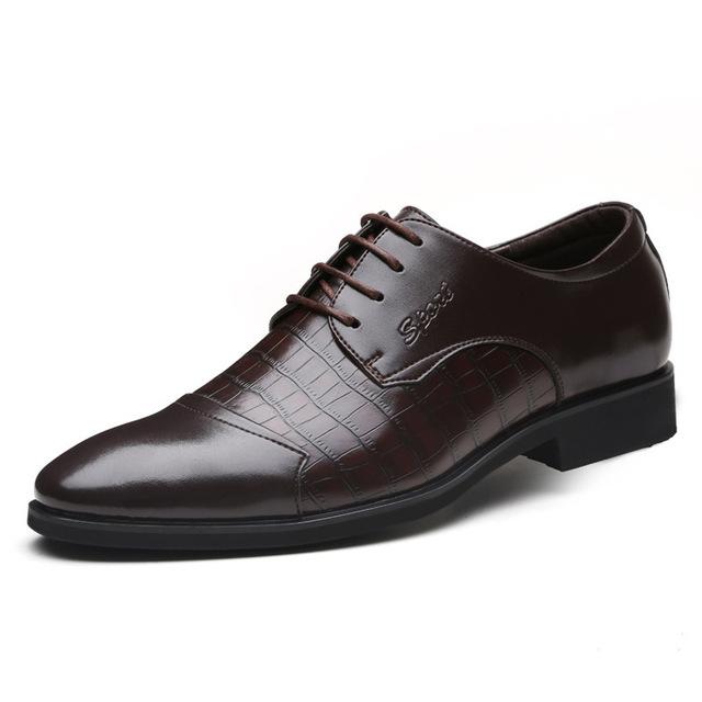 Новый 2015 мужская обувь из натуральной кожи Делового Дресс Мужчины Оксфорды, босоножки, ...