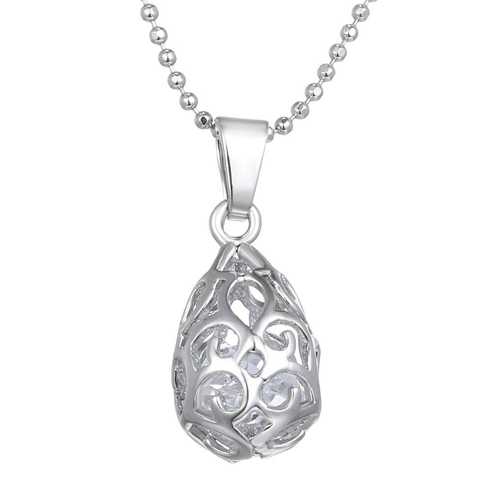 Austria Crystal Necklaces Pendants Silver Plated Jewerly 2015 Necklace Women Cheap Fashion ebay Jewelry Wholesale(China (Mainland))