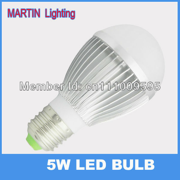 New design 5w E27 led Globe light bulbs Warm smd5730 brighter energy saving lamps AC85-265v