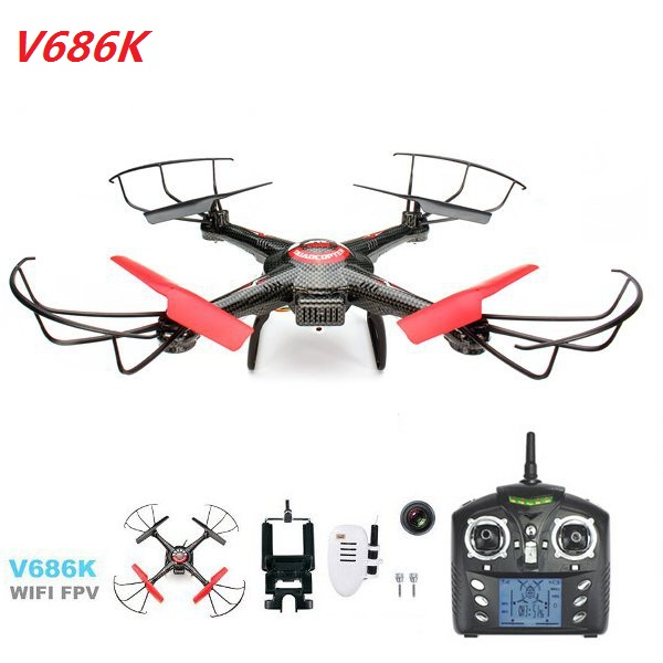 JJRC V686K WIFI FPV Headless Mode2 RC Helicopter Quadcopter with Camera<br><br>Aliexpress